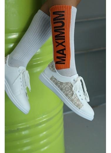 Baqmaq Sneakers Beyaz